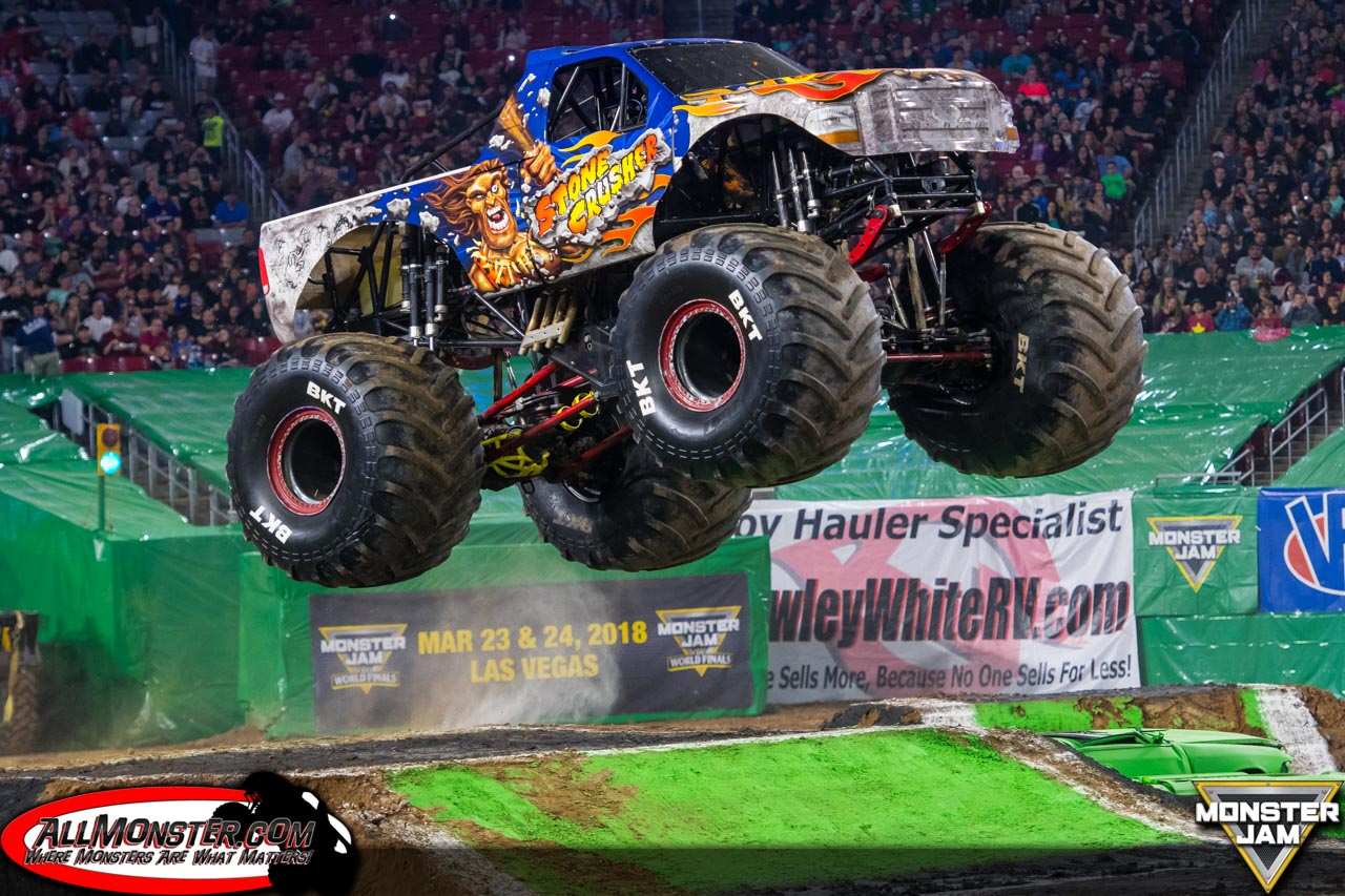 Glendale, Arizona - Monster Jam - February 3, 2018 - Stone